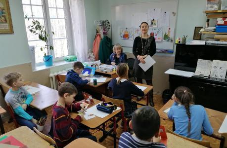 18 апреля преподавателем воскресной школы Натальей Валерьевной Межовой проведена беседа с учащимися по профилактике коронавирусной инфекции